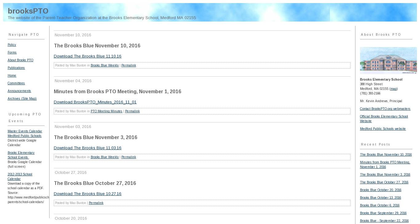 brookspto org brooks elementary school pto medford ma domainsdata