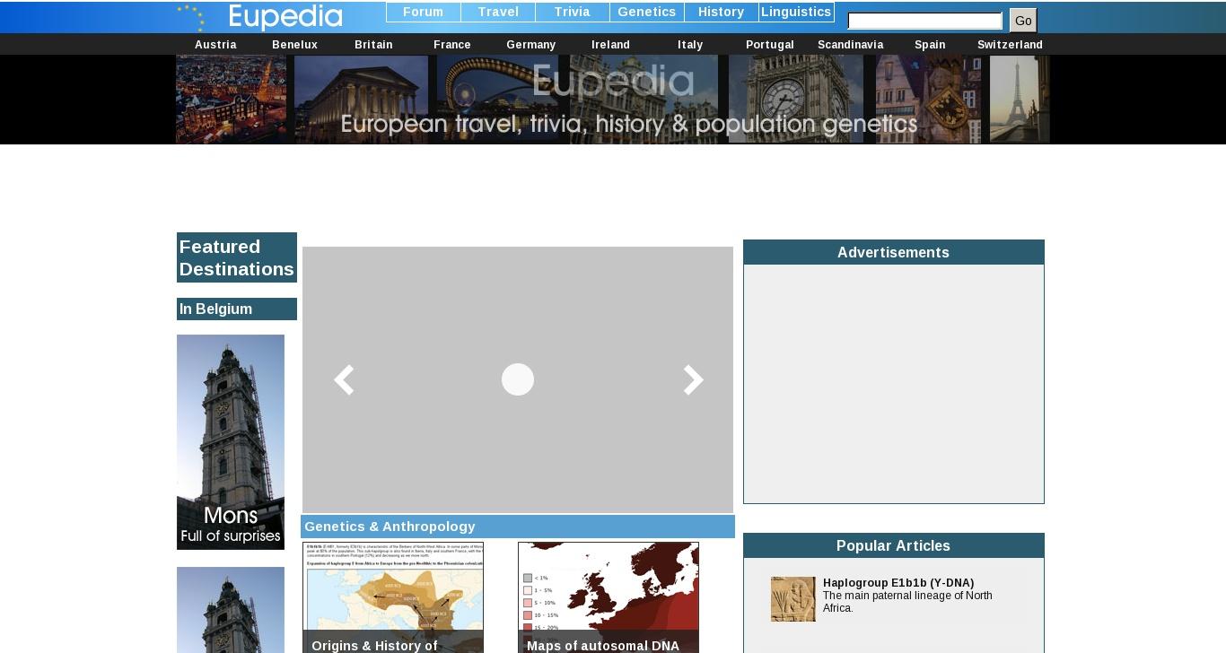 eupedia com - Eupedia : European Travel, Trivia, History