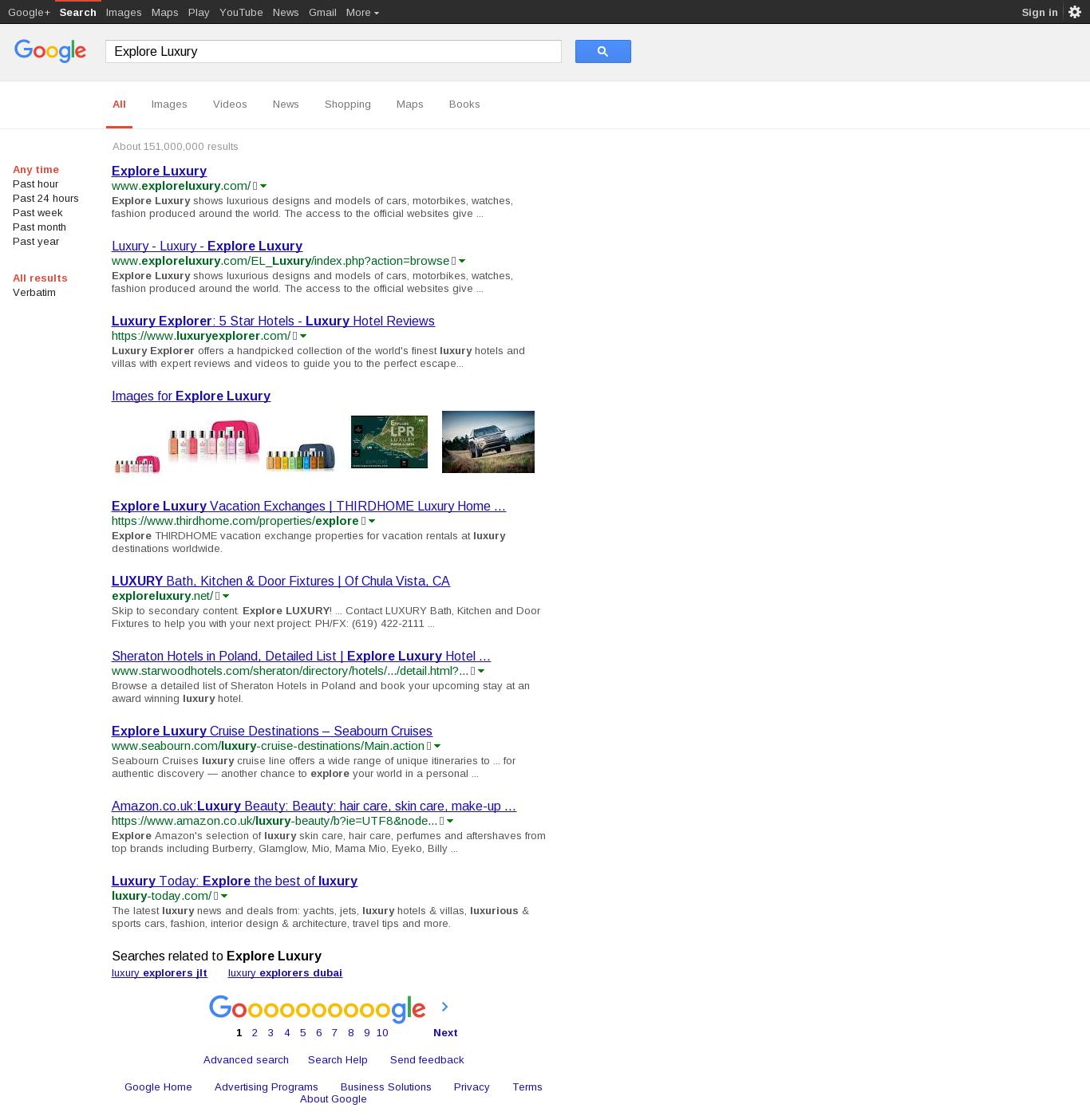 exploreluxury com - Explore Luxury - DomainsData