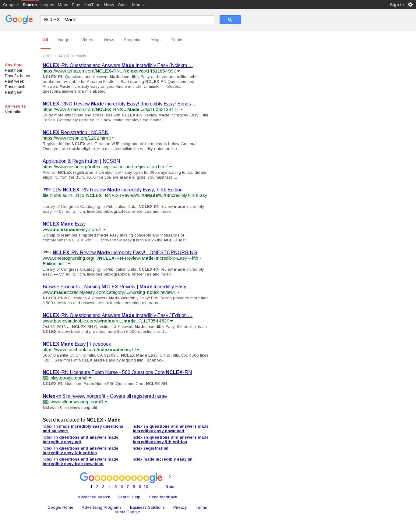 Nclex Rn Net Nclex Made Ridiculously Simple Domainsdata