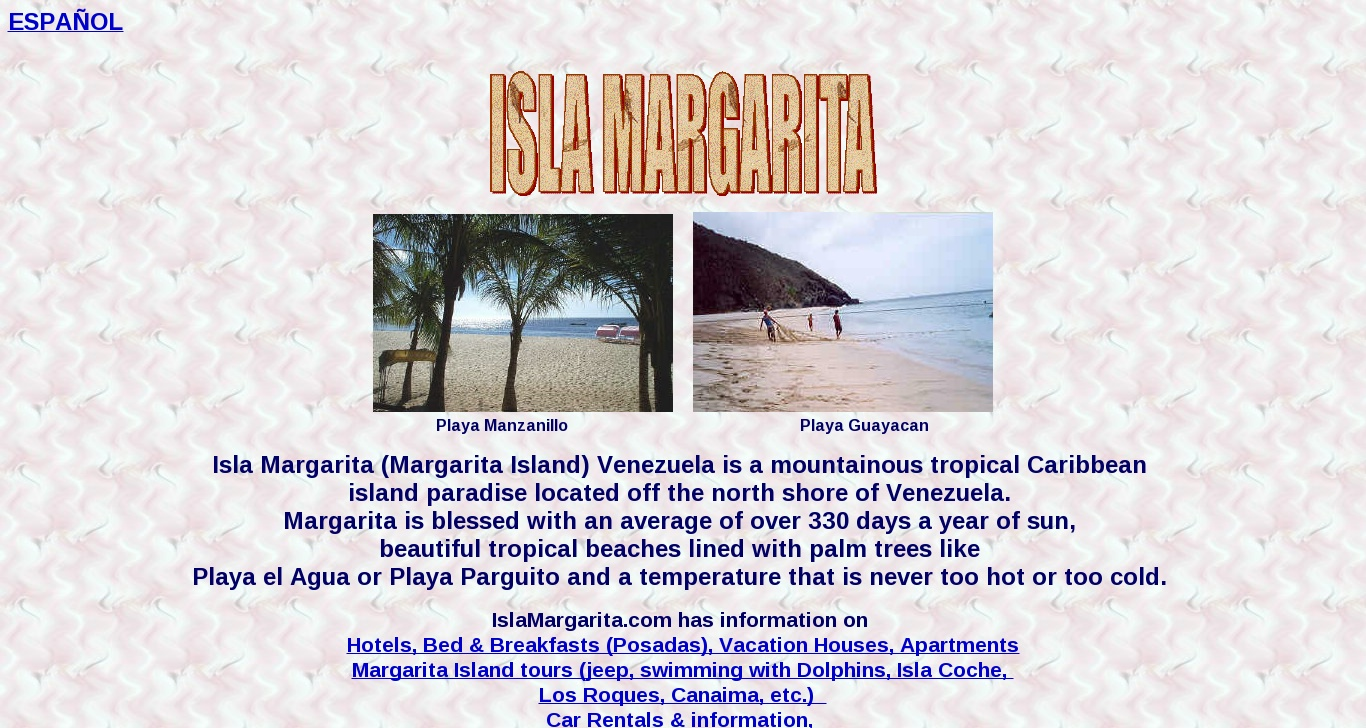 islamargarita com - Isla Margarita: Your guide to Margarita