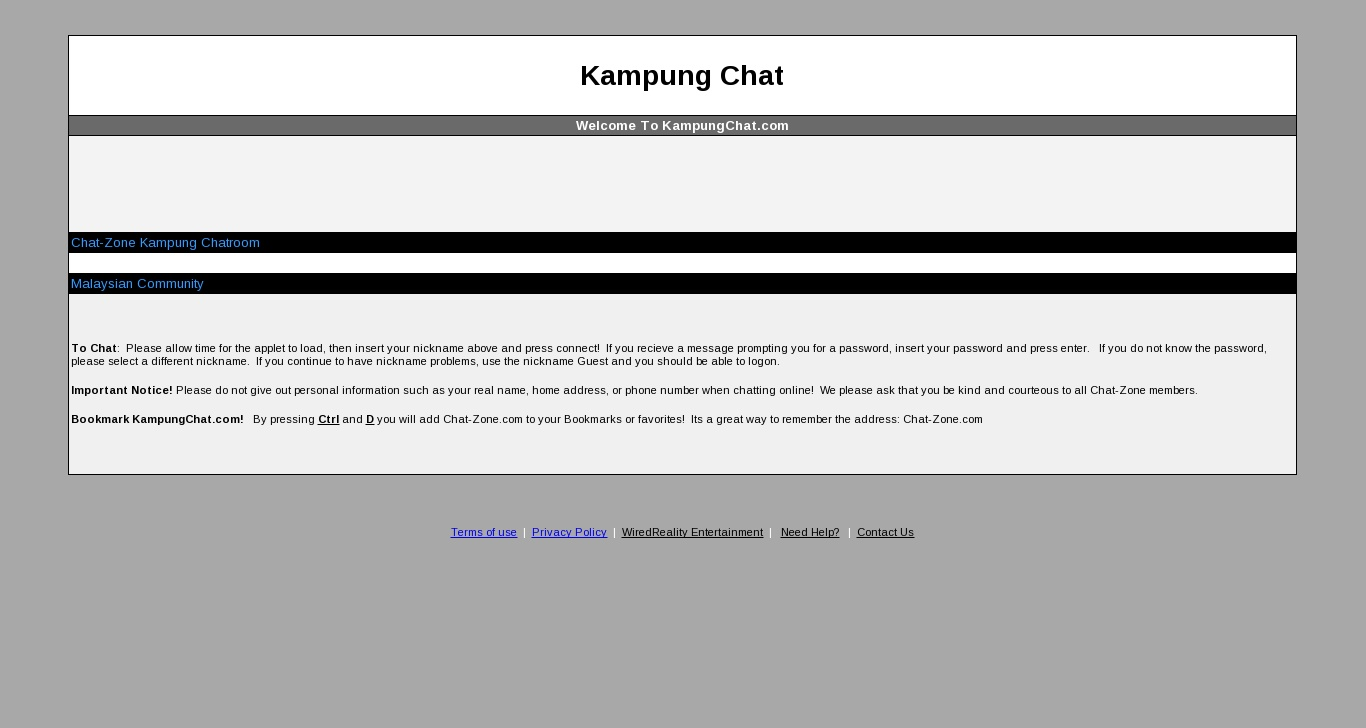 Image result for kampung chat