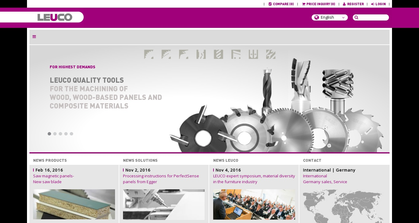 leucotool com - LEUCO Tools Wood and Plastic - DomainsData